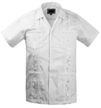 Guayabera Kids Junior Beach Wedding Baptism Button-Up Casual Dress Shirt - 14