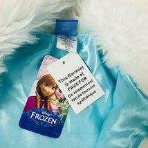 New Girls Disney Frozen Faux Fur Vest Size Medium 7 Costume Top Accent image 6