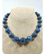Lapis lazuli fine super fine necklace pendant high quality fashion art necklace - $444.51