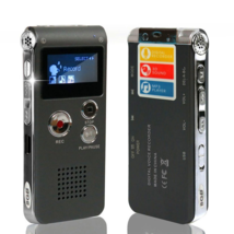 Mini Digital Voice Recorder USB Flash 8GB Digital Audio Voice Recording ... - $36.95