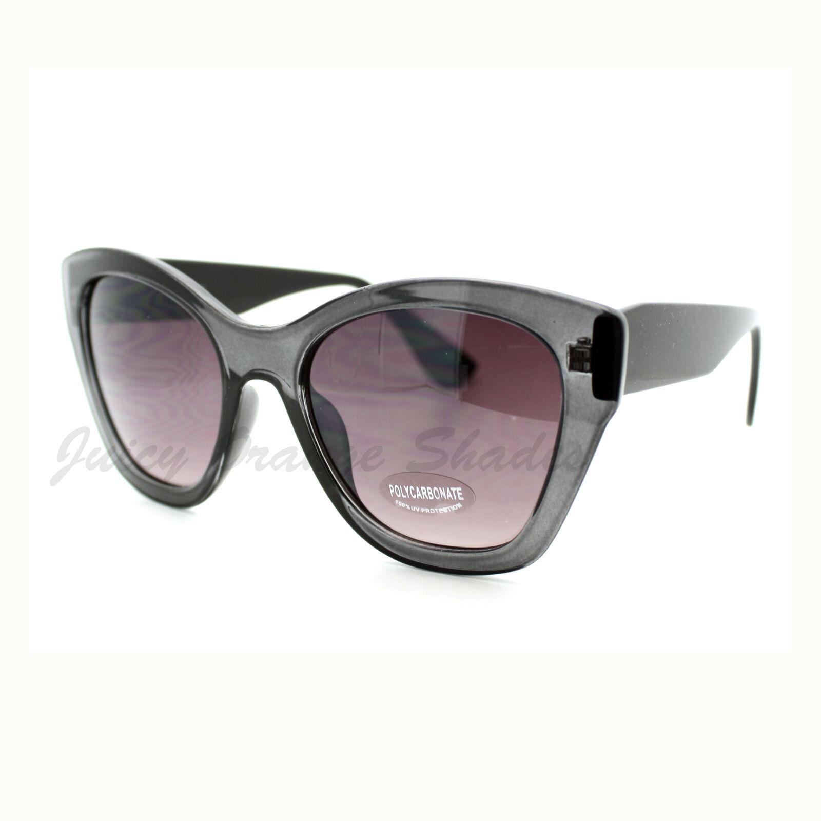 Women's Fashion Sunglasses Oversized Butterfly Square Cateye