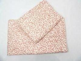 Waverly Savoy Coral Pink Ivory 2-PC 96 x 39 Lined Rod Pocket Drapery Panels - $48.00