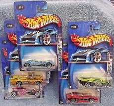 2003 Hot Wheels SPECTRAFLAME II Complete Set 1 thru 5 See Description For Detail - $18.00