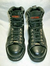 Women's HARLEY DAVIDSON Steel Toe Boots-Motorcycles-Biker-Work Safety Sh... - $89.95