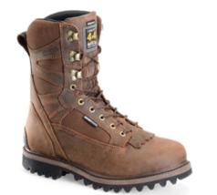 "Carolina 10"" Size 13 2E WIDE Men's WP Insulated Steel Toe Work Boot Brown CA4541"