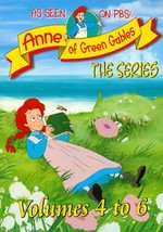 ANNE OF GREEN GABLES: THE ANIMATED SERIES, VOLS. 4-6 NEW DVD - $79.60