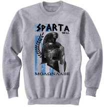 Sparta Leonidas 1 - New Cotton Grey Sweatshirt - $34.33