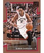 DeMar Derozan 2017-18 Donruss Card #136 - $0.99