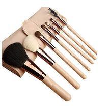 7 Pcs Synthetic Foundation Eye Shadows Professional Makeup Brush Sets(Nude)
