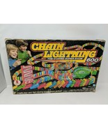 Chain Lightning 300 Dominoes Board Game 1982 Replacement Box VTG 80s - $9.89