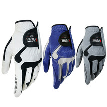 Men Golf Gloves All Weather Comfort Breathable Left/Right Hand Select Size - $12.98