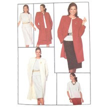 Vtg Simplicity 7809 Misses Short Sleeve Top Straight Skirt Lined Coat 20-22-24 - $6.95