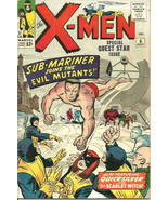X-men #6 Fine+ range Jack Kirby Stan Lee 1964 MARVEL COMICS 1st print & ... - $445.50