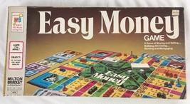 EASY MONEY Milton Bradley Board Game Complete W/ Instructions 1974 Ed. V... - $13.25