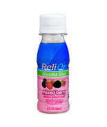 ReliOn Mixed Berry Glucose Shot, 2 Oz, Three Small Bottles - $14.01