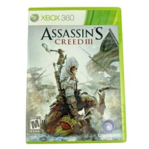 Assassin's Creed III Microsoft Xbox 360 Video Game Tested Complete - $9.99