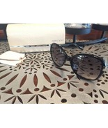 AUTHENTIC Jimmy Choo Alanna Sunglasses, Black with Crystals GORGEOUS! - $143.55