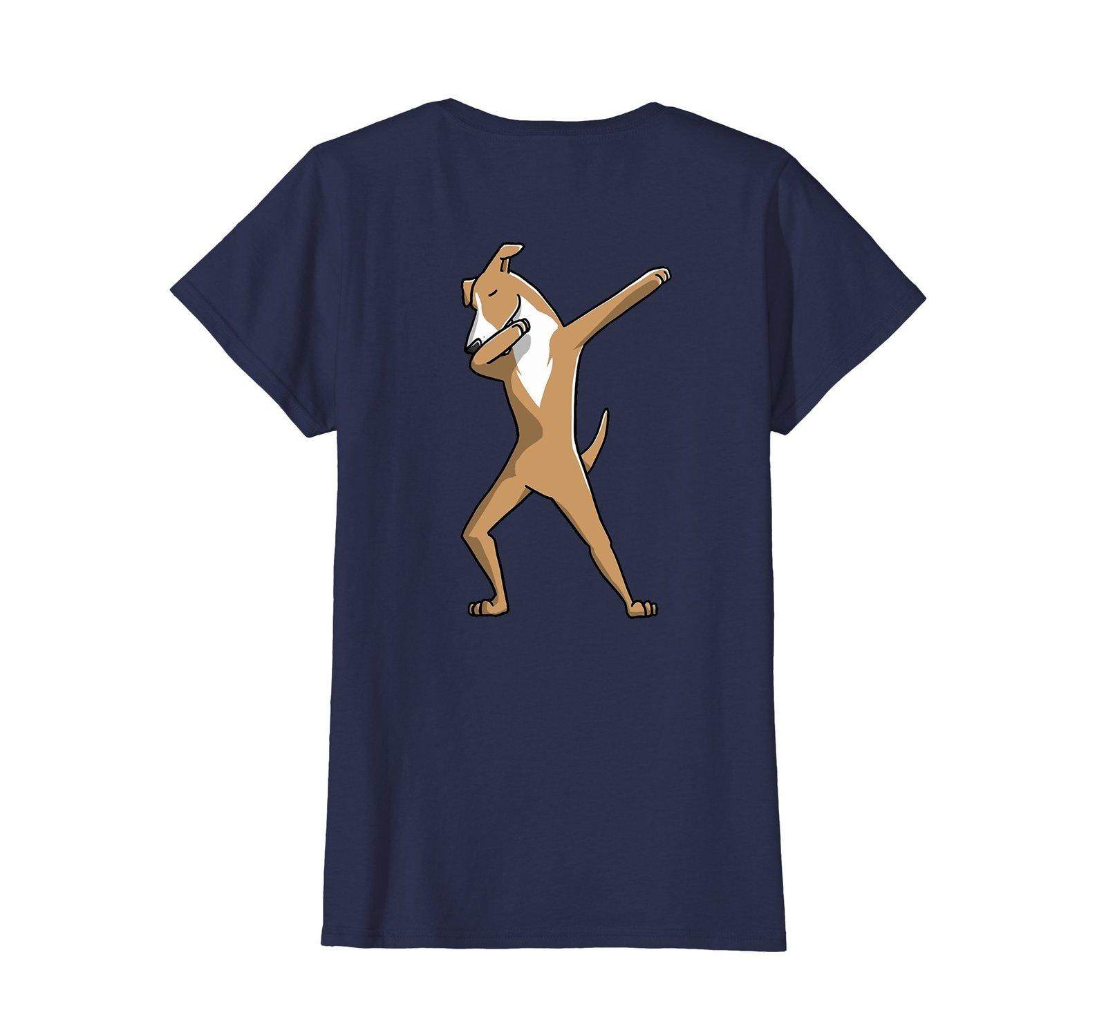 Funny Dabbing Greyhound Dog Birthday Party Gift Shirt