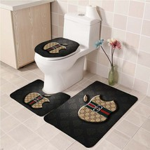 Hot Sale Gucci494 Toilet Set Anti Slip Good For Decoration Your Bathroom  - £16.61 GBP