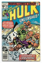Bronze Age 1977 The Incredible Hulk Comic 216 from Marvel Comics    - $4.95