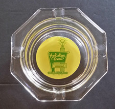 Vintage Holiday Inn The Nation's Innkeeper Glass Ashtray - $9.89