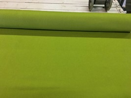 Bright Green Wool Upholstery Fabric 4.875 yards CN - $115.79
