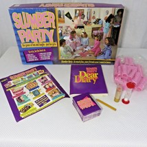 Slumber Party The Game Of Fun And Laughs Board Game 1990 Cadaco Complete - $39.55