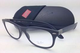 New RAY-BAN Eyeglasses LITEFORCE RB 7032 5204 55-17 Matte Black Frames Demo Lens