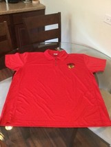 NWT Chicago Blackhawks Red NHL Polo Golf Shirt 2XL New With Tags!!! - $12.61