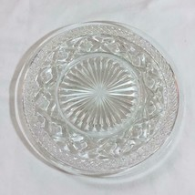 Set of 4 Imperial Glass Clear Cape Cod Salad Plates - $8.79
