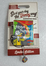 Disney Parks Ludwig Von Drake Letters and Numbers Cereal Box Limited Edi... - $24.74