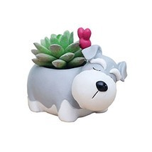 Cuteforyou Cute Animal Shaped Cartoon Home Decoration Succulent Vase Flo... - $11.83