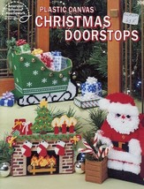 Christmas Doorstops Plastic Canvas PATTERN/INSTRUCTIONS 6 Projects ASN3063 - $8.97