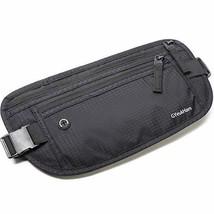 Money Belt for Travel,RFID Blocking,Running Pack,Waist Bag,Hidden Wallet,Phone P