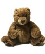 "Gund Large Brown Teddy Bear Claws Kohl's Cares 14"" Sitting Stuffed Plush... - $20.15"