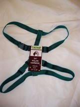 Formay Nylon Pet Harness 3/4 Inch Dog Harness Green W Green 20 to 28 Inch - $14.84