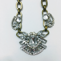Rhinestone Vintage Fashion Necklace - $20.00
