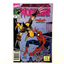 Marvel Comics Presents #48 Marvel 1990 VF+ Wolverine Spider-Man Storm Wasp - $4.90
