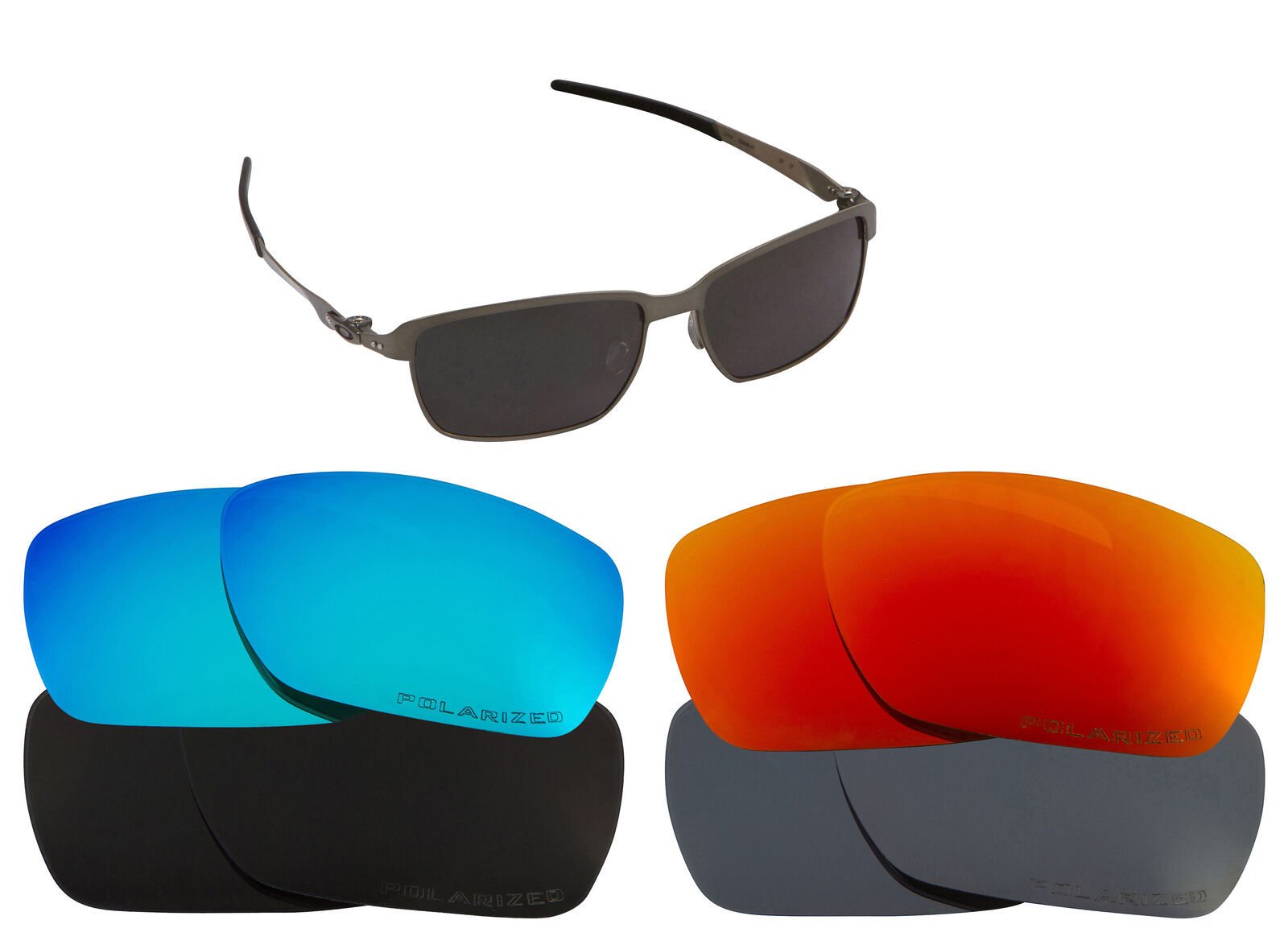 Primary image for Replacement Lenses for-Oakley Tinfoil Sunglasses Anti-Scratch Multi-Color