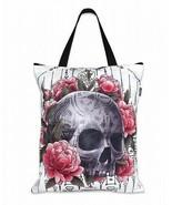 Liquor Brand Sak Yant Tote Bag Skull with thai tattoos Sacred Geometrica... - $22.00