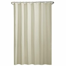 "Maytex Water Repellent Fabric Shower Curtain Liner, 70"" X 72"", Bone - $11.87+"