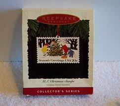 Hallmark Keepsake Ornament US Christmas Stamps 2nd in Series 1994 - $0.98