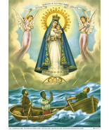 Catholic Print Picture MARY OL Charity Virgen del Cobre - ready to frame - $14.01