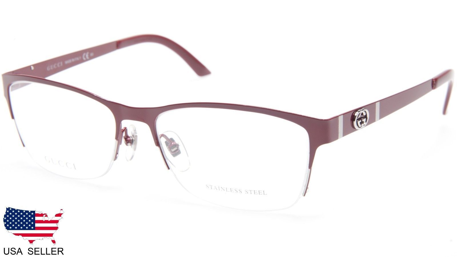 dae29bc9333 New Gucci Gg 4236 Cqm Red Eyeglasses Glasses and 33 similar items. 57