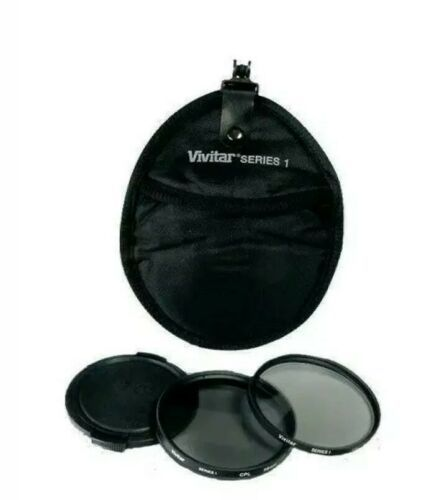 Primary image for Vivitar 4 Piece Filter Kit Set 58mm UV & CPL Filter, Lens Cap & Case. Nikon