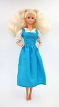 Vintage Mattel 1966 Twist & Turn Barbie Doll Platinum Blond Hair Made In... - $49.49