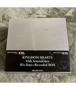 Nintendo 3DS Kingdom Hearts 10th Anniversary 3D+Days+Re:coded BOX SQUARE... - $97.89