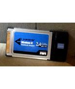 Linksys Cisco Wireless-B Notebook Adapter 2.4 GHz 802.11g WPC11 Ver.4 - $5.00