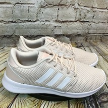 adidas Cloudfoam QT Racer Women's Beige Running Shoes Size 7.5 - $32.48