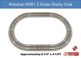 Rokuhan R081 Shorty Oval Rail Set G Ships Immediately From USA! - $31.95